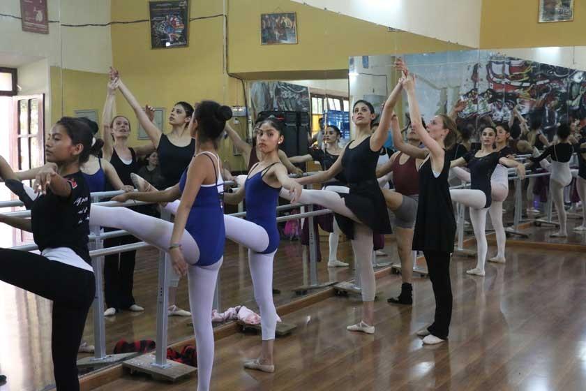Bailarines, del taller al escenario