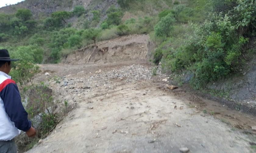 Tarvita sufre las inclemencias de la lluvia y granizadas. Foto: AMDECH