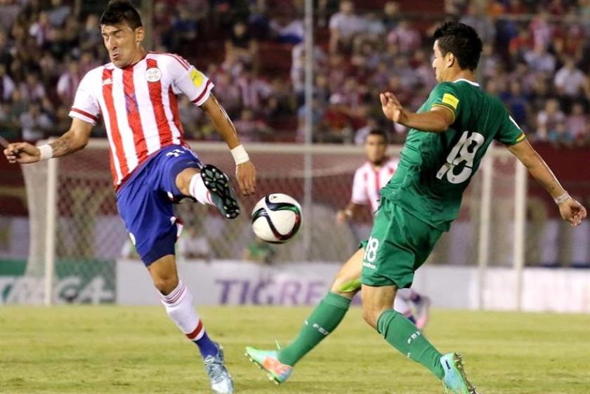 El partido entre Paraguay y Bolivia se juega en Asunción. Foto: EFE