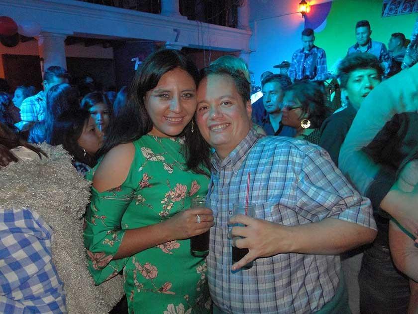 Rosario Zelaya y Sergio Galvéz.