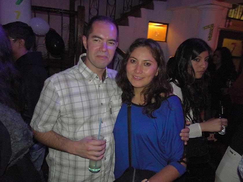 Aurelio y Ayra.