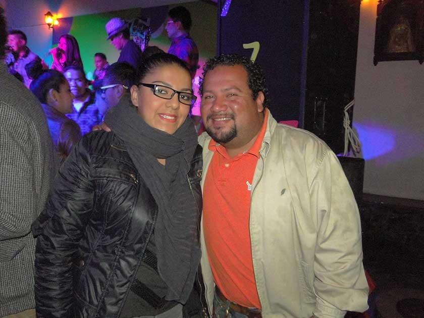 Belén Rodas y José Luis Noriega.