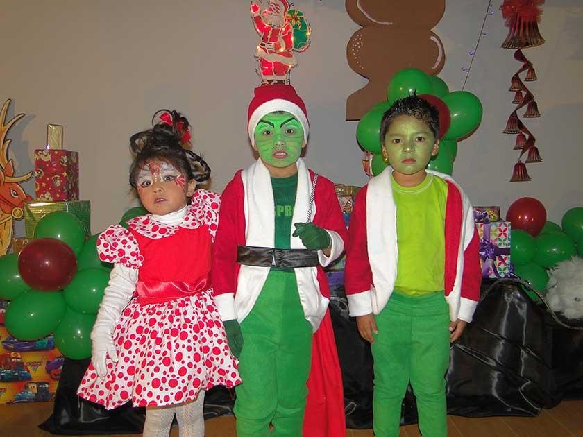 Valeria Ríos, Benjamín y y Nicolás Vargas