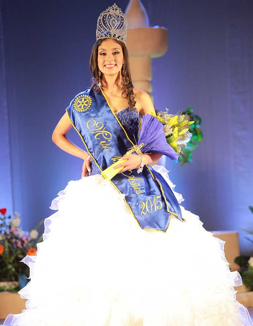 Gabriela Rivera, Miss 15 Años 2015, Miss Sonrisa y Miss Talento