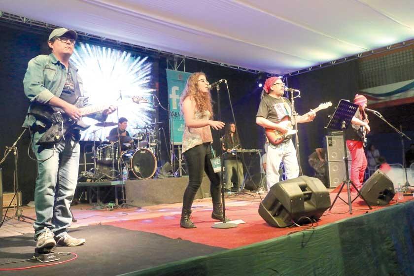 Rock pone a rugir al FIC en Sucre