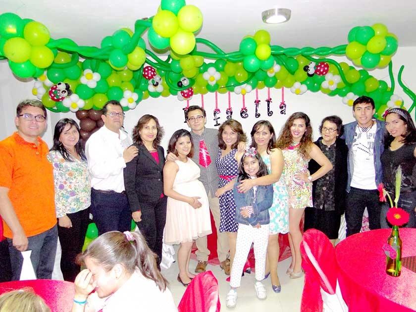 Familia Arduz Campos.