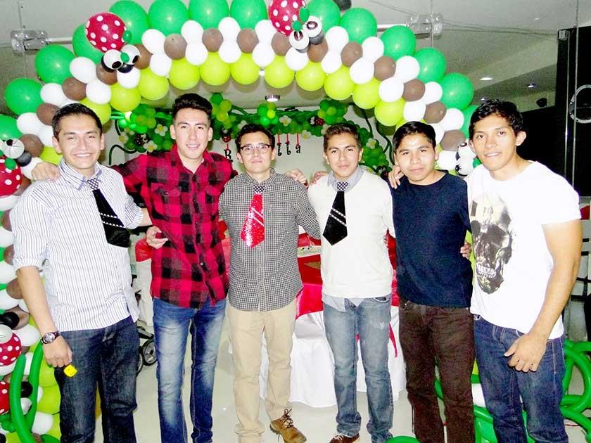 Vlady Uriona, Cristian Montero, Adrián Arduz, Daniel Torres, Rodrigo Martínez,  Fabri Gonzales.