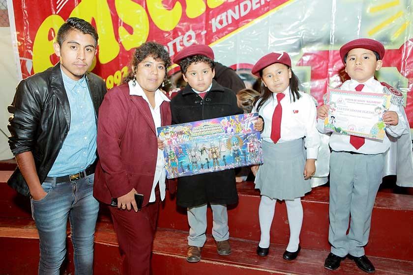 Pablo Cervantes, Martha Calvo, Taira Vera, Said Márquez y Mauricio Flores.