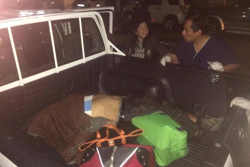El chofer fallecido fue trasladado a la morgue del hospital Santa Bárbara. Foto: CORREO DEL SUR