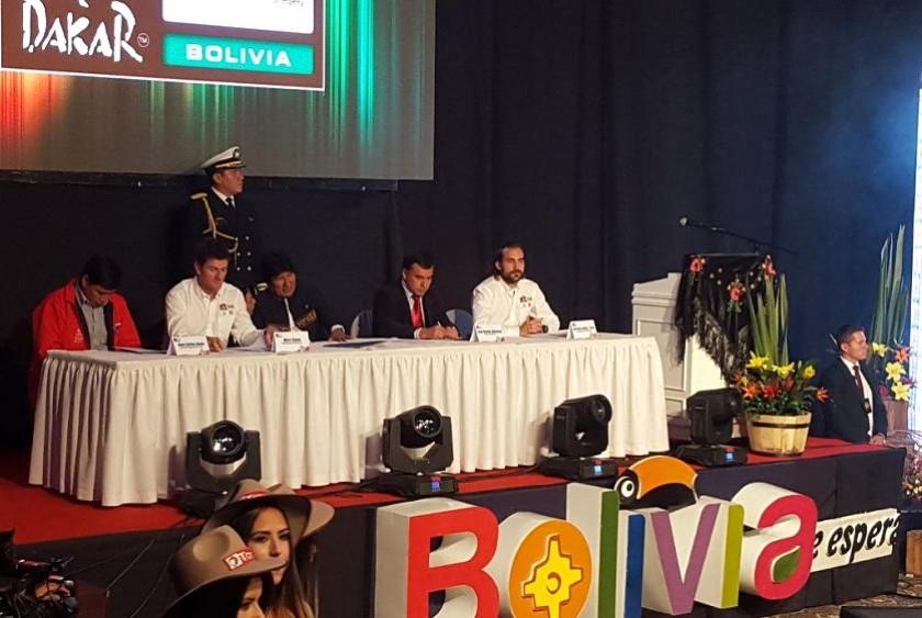 Evo Morales estuvo presente en el acto. Foto: ANF