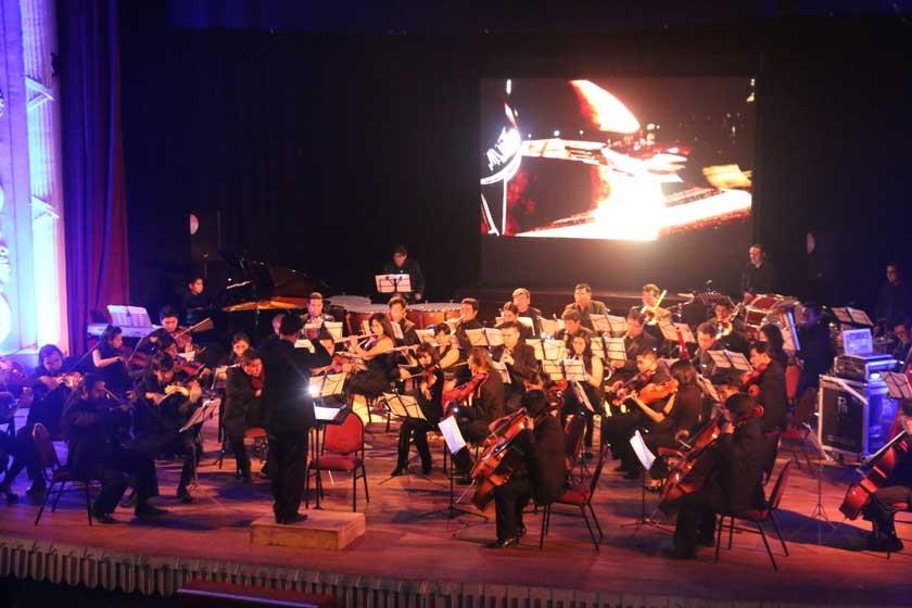 La Sinfónica lleva a las estrellas a Sucre