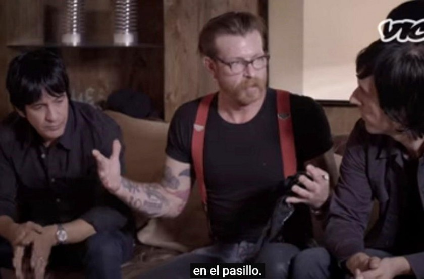 Eagles of Death Metal contaron lo que vieron dentro de Bataclan. Foto: Captura de video