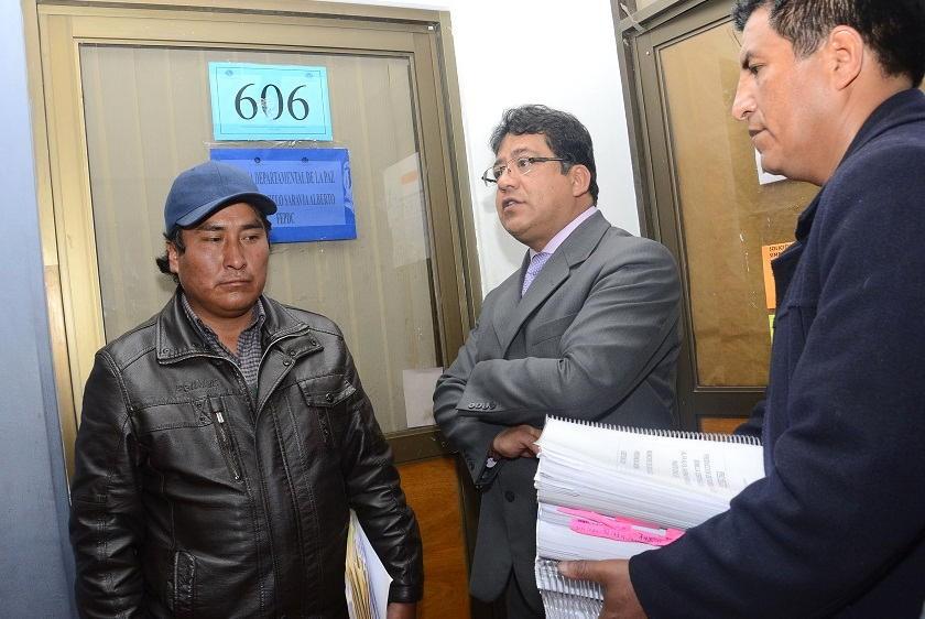 El senador Jorge Choque fue enviado a detención domiciliaria. Foto: Archivo