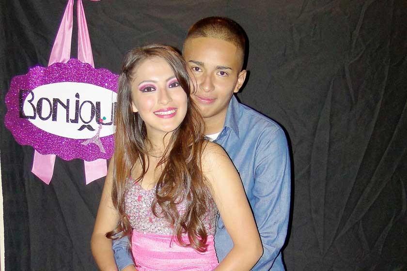 Marco Álvarez y Allison Nogales.