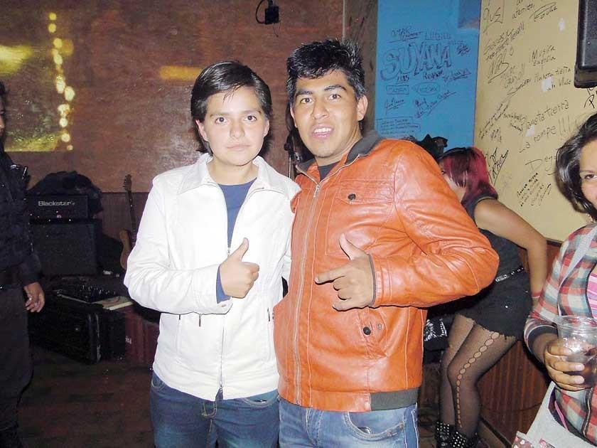 Jacqueline Ibarra y Remberto Jiménez.