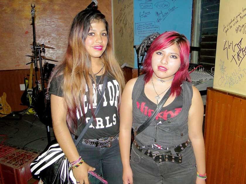 Susan Aguilar y Graciela Tamayo.