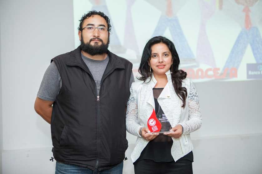 Marcelo Guzmán y Carla Durán (Chocolates para ti).