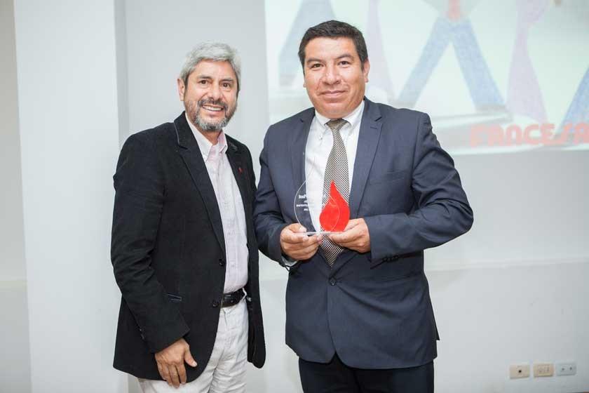 Luis María Porcel y Cliver Torres (MYT Pro Plast).
