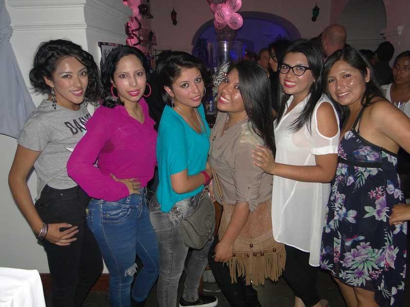 Lizbeth, Ana, Teresa, Brenda, Ariana y Senobia.