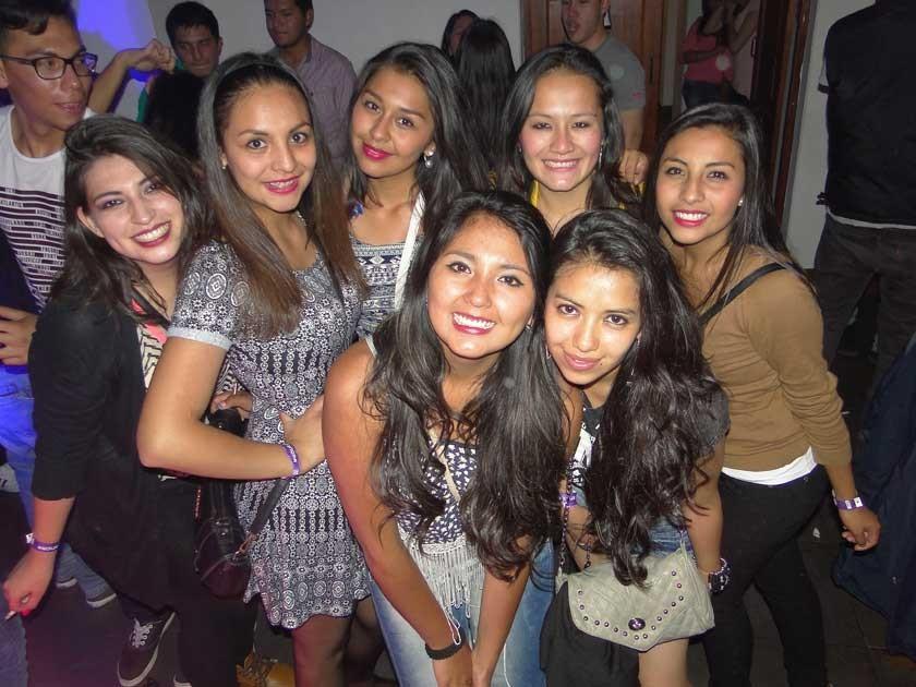 "Las chicas ""Fulldutz 2015""."