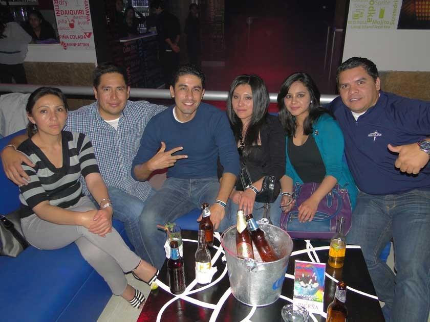 Shirley, David, Rodrigo, Marielena, Andrea y Miguel.
