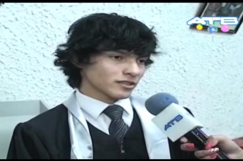 Leonardo Gutiérrez se profesionalzó a los 19 años de edad. Captura de imagen
