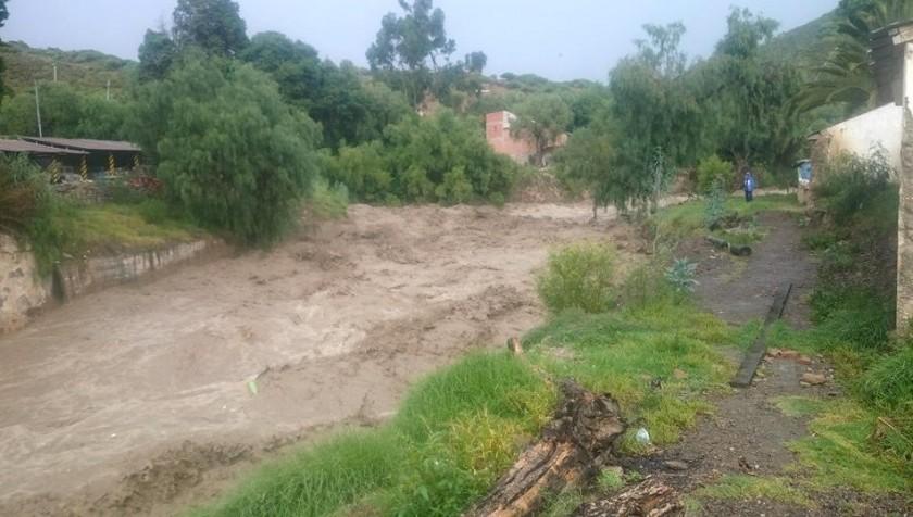 Uno de los ríos cercanos a Sucre. Foto: Gentileza