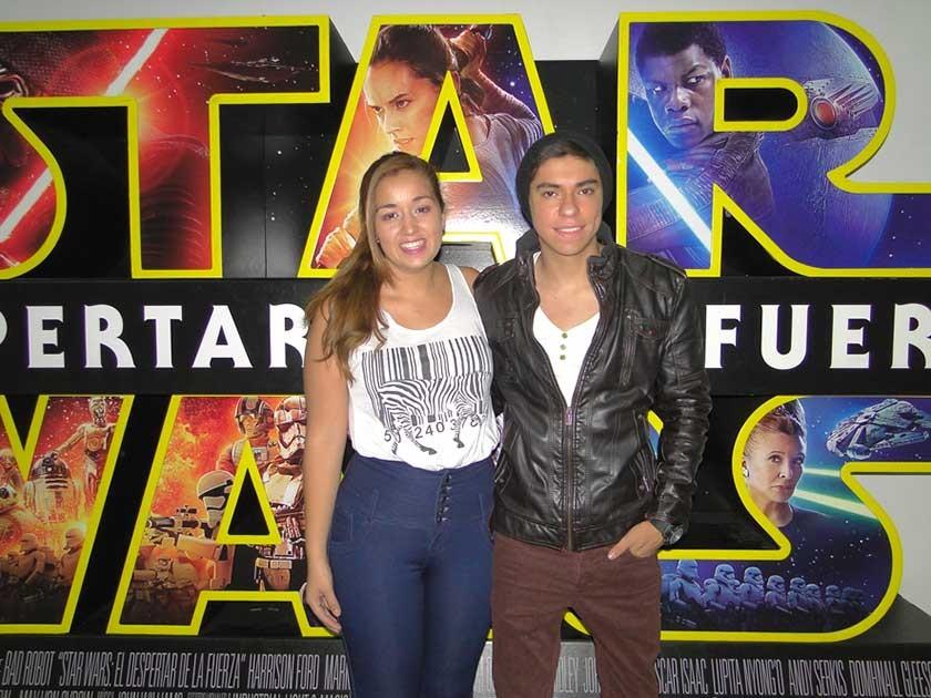 Ana Flores y Sebastián Aranibar.
