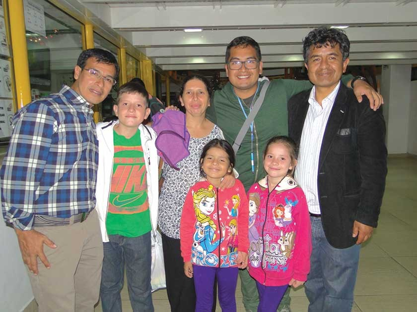 Familia Encinas.