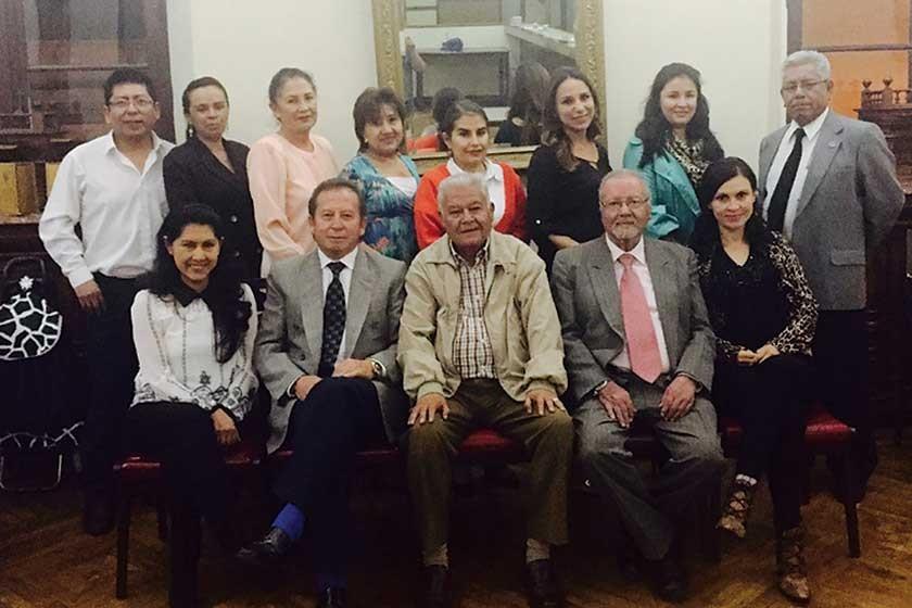 Miembros de la Sociedad de Dermatología Filial Sucre