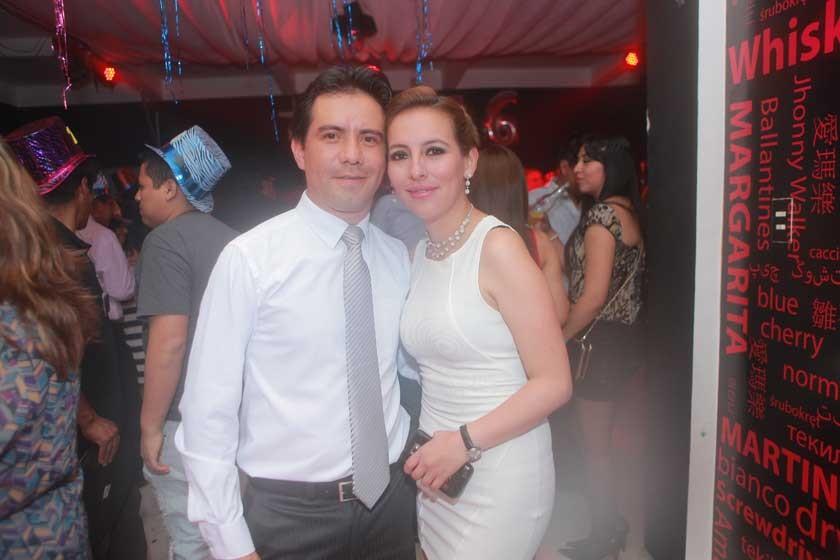 Sergio Rojas y Mónica Mercado.