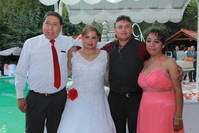 Milder Vargas, Dabheyva Herrera, Cesar Tapia y Sayonara Hinojosa.
