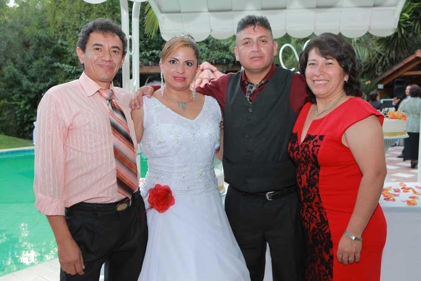 Omar Lucuy, Dabheyva Herrera, Cesar Tapia y Maritza García.