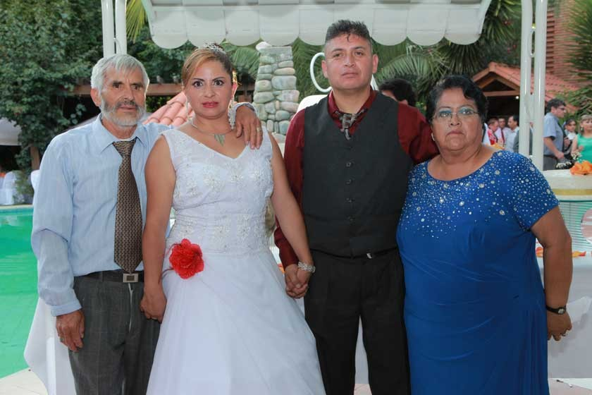 Federico Herrera, Dabheyva Herrera,  Cesar Tapia y María Arguedas.