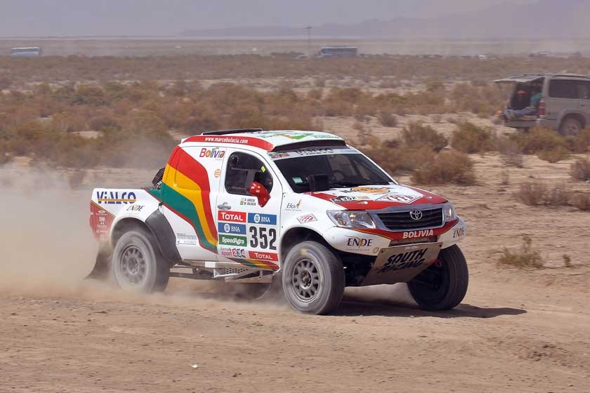 El Dakar deja el país tras intensa etapa