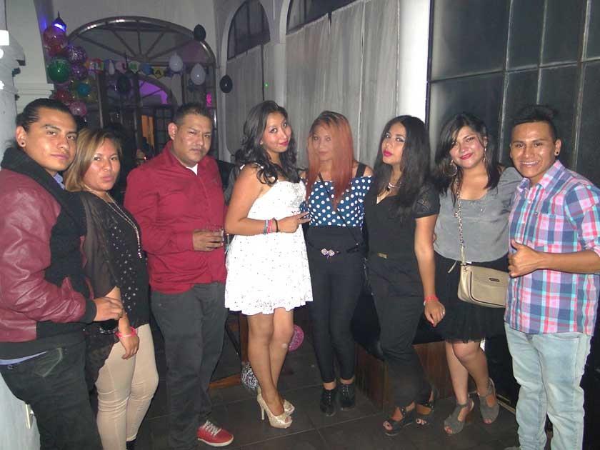Nefy, Carla, Erick, Neisa, Roxette, Kimberly, Gaby y Jamil.