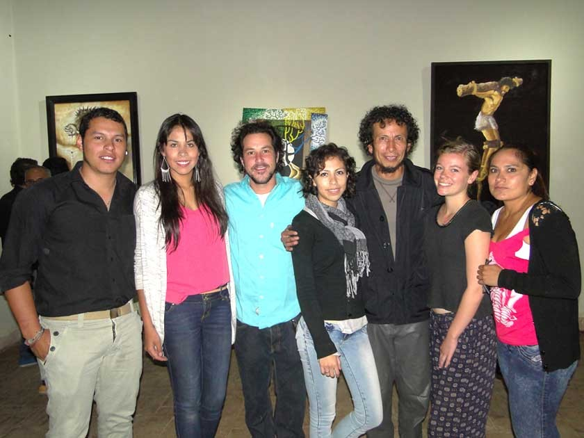 Rodrigo Ayaviri (Chef), Mirtha Padilla, Maneo Step, Gabriela Padilla, Hernán Padilla,  Robín Brongersma y Susana Rosales