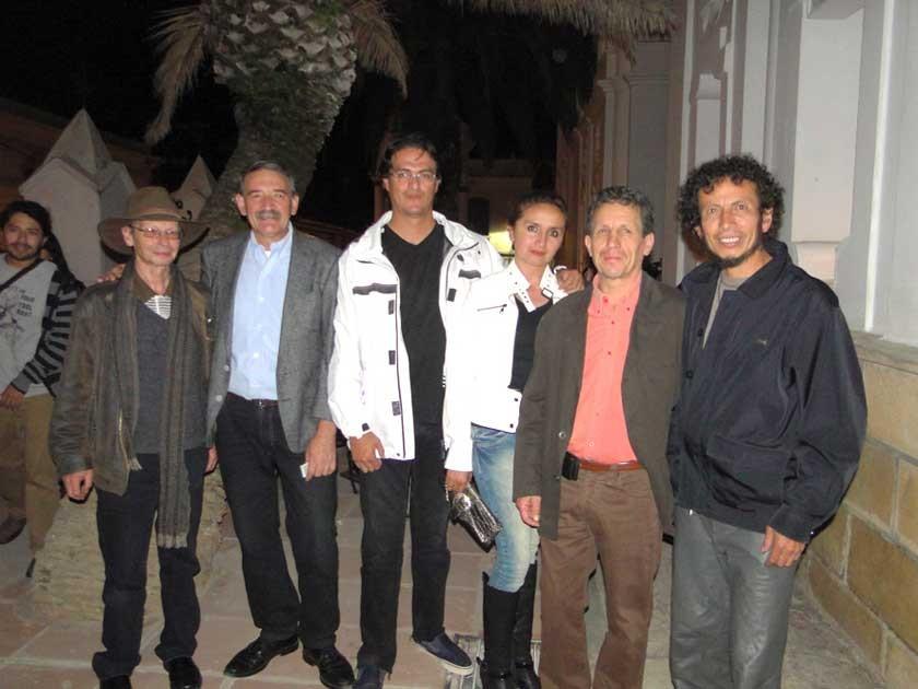 "Fredy Ozman, ""Mizzau"", Yerko García, Gabriela Sejas, Edlan Ovando, Hernán Padilla."