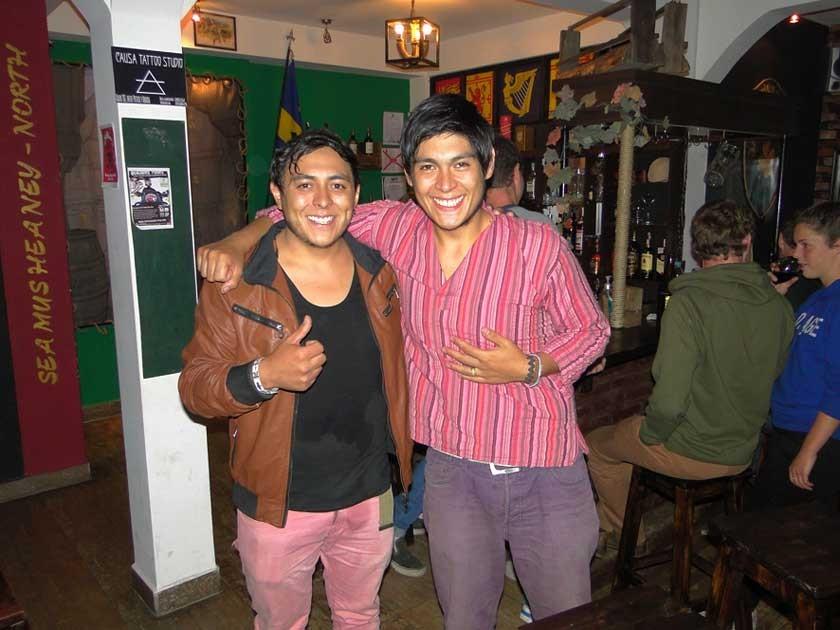 Fico y Esteban.