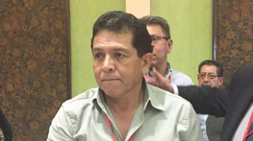 El nuevo presidente de la FBF, Rolando López. FOTO: El Deber