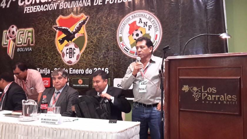 El nuevo presidente de la FBF, Rolando López. FOTO: Gentileza