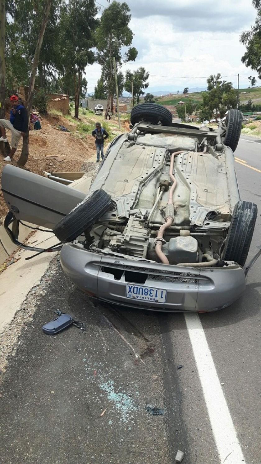 El accidente dejó el saldo fatal de un muerto. Foto: Getileza/Tránsito