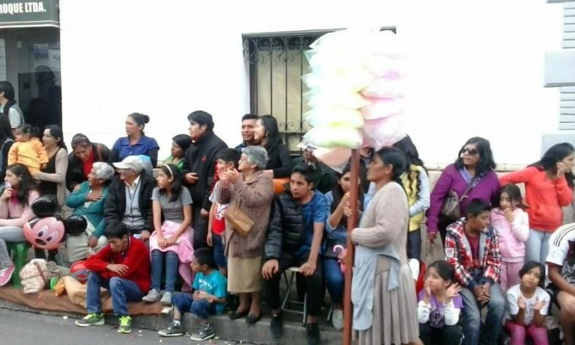 Se derrocha mucha alegría en el Carnaval de Antaño. Foto: Gabriel Salinas