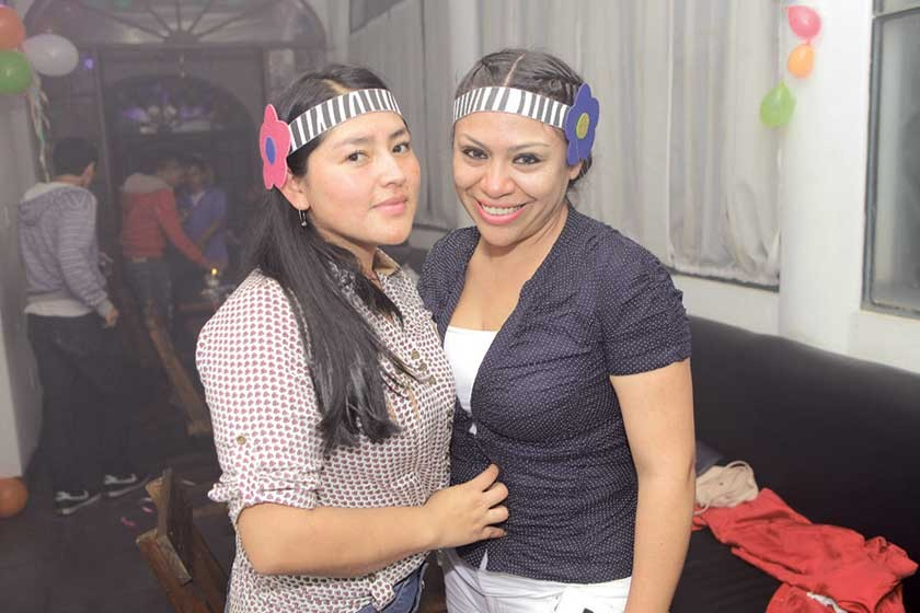 Ilsen Mancilla y Paola Cruz.