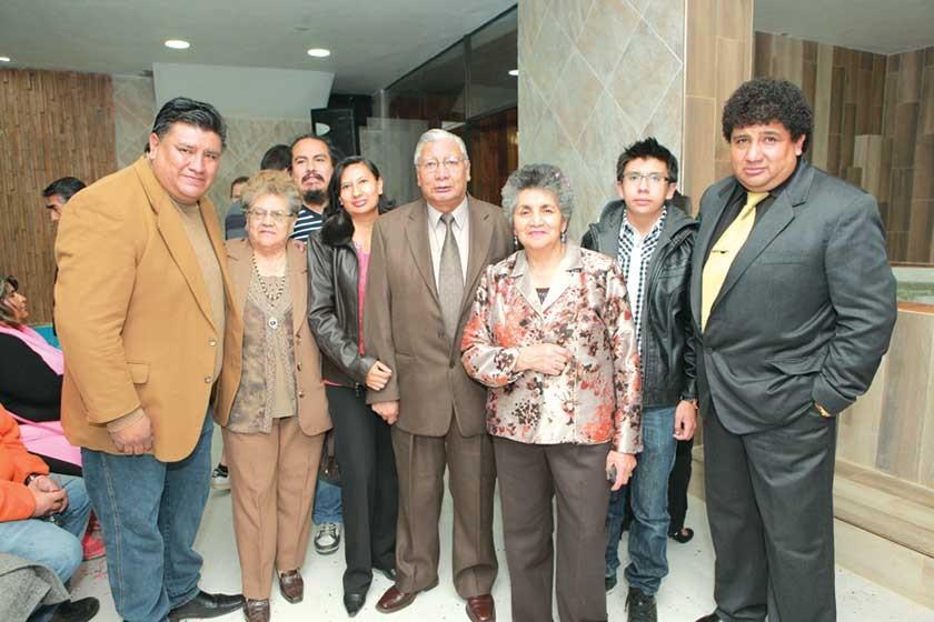 Javier Durán, Mary de Durán, Mario Ávalos, Ingrid Durán, Hector Durán, Lourdes Durán, Ricardo Durán y Luís Fernando D.