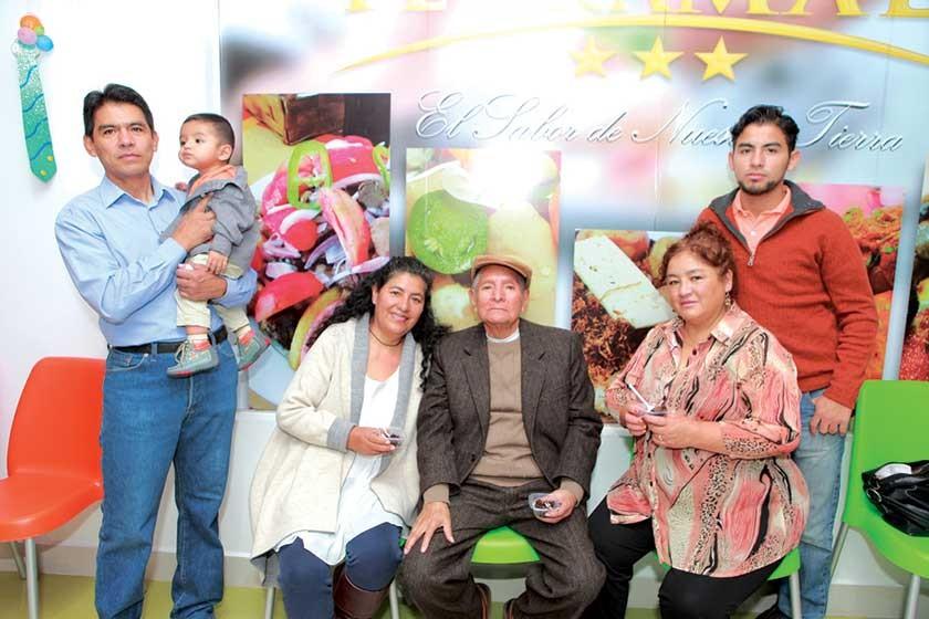 Miguel López, Iker Garvizu, Ana Muruchi, Víctor Laredo, Carmen Céspedes y Jorge López.