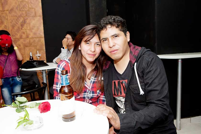 Adriana y Alejandro.