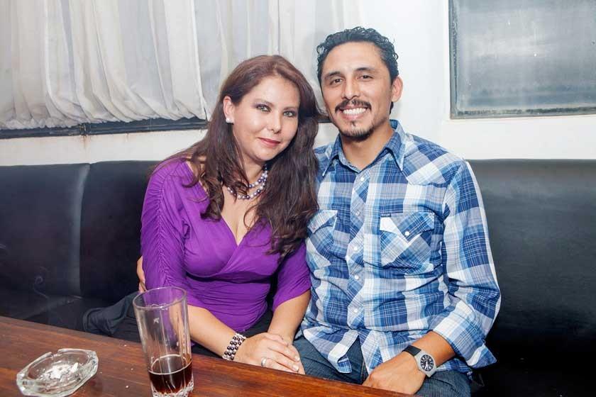 Paola Salgueiro y Jaime Padilla.