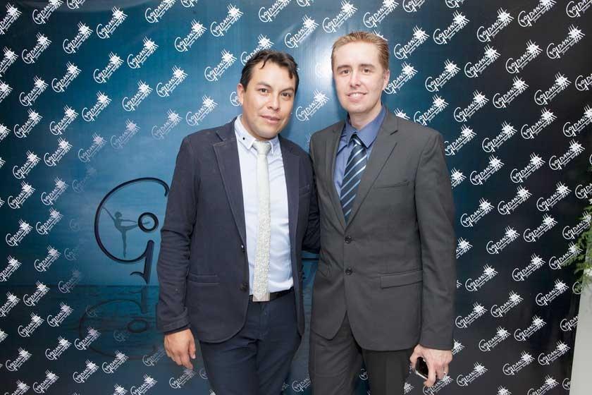 Edson Gil y Cyril Lottici.