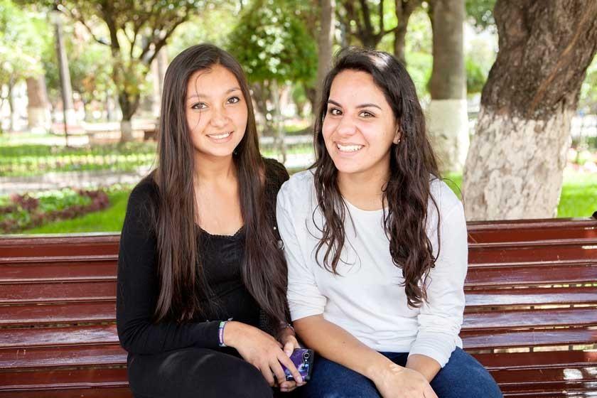 Graciela Rengel e Isabel Téllez.